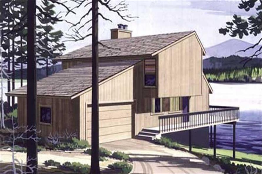 Color Rendering to this set of house plans.