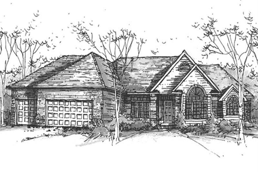Main image for house plan # 21140