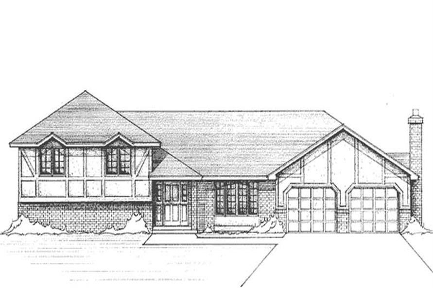 Main image for house plan # 21132