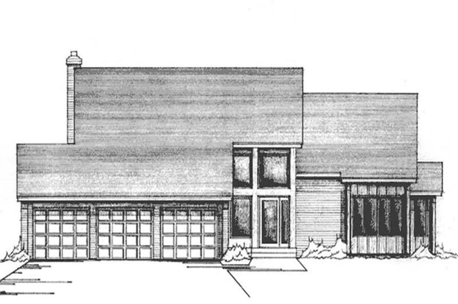 Main image for house plan # 21131
