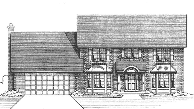 French Colonial House Plans Home Design Ls 97907 Re 21167