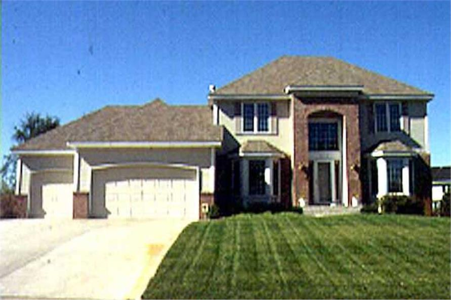 Main image for house plan # 21164