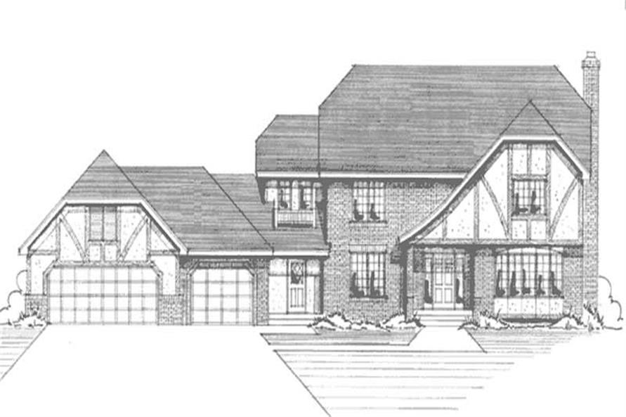 Main image for house plan # 21155