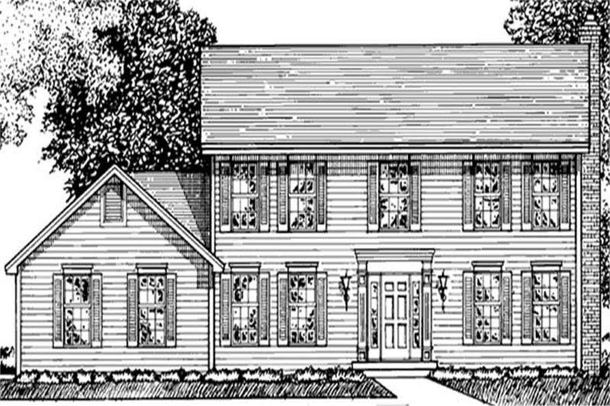 Main image for house plan # 20950