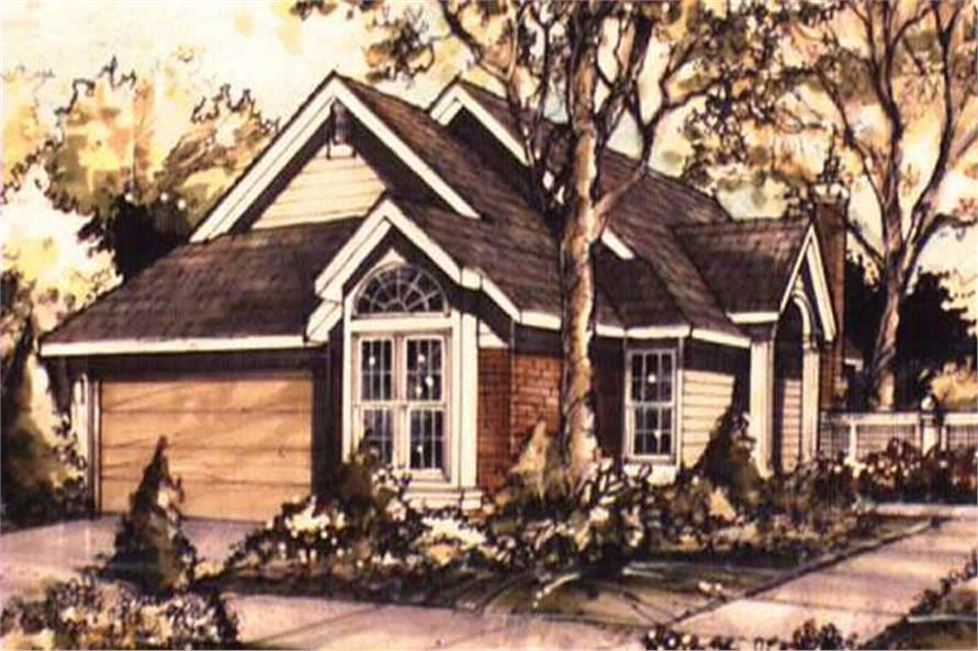 Country House Plans LS-B-89076 front elevation image.
