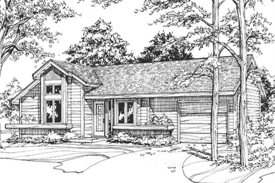 Main image for house plan # 21458