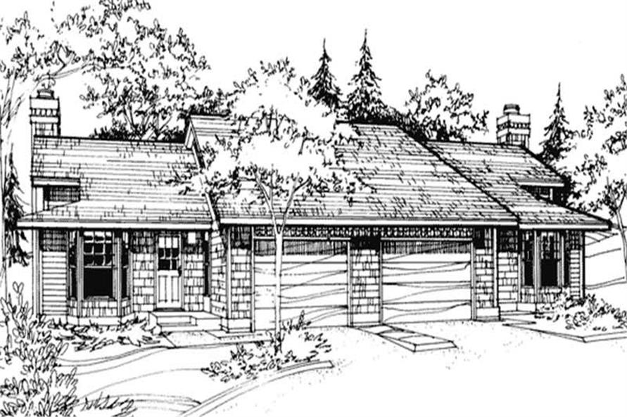 Main image for house plan # 21462