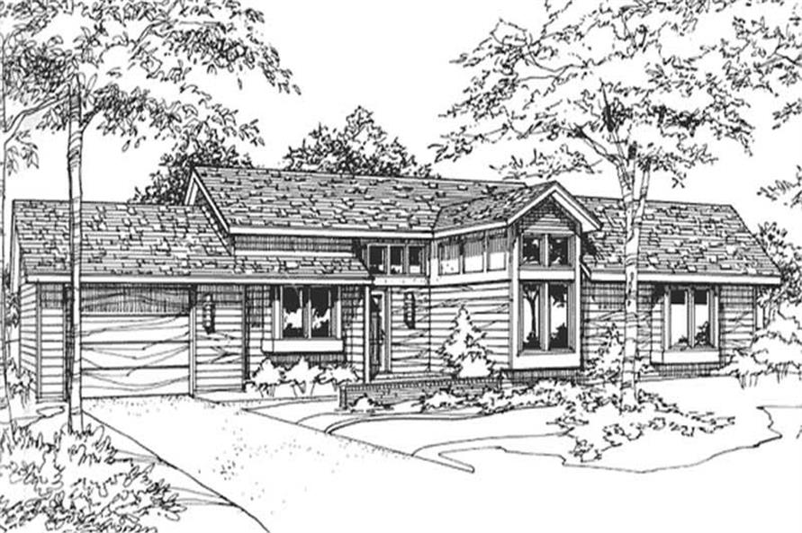 Main image for house plan # 21452