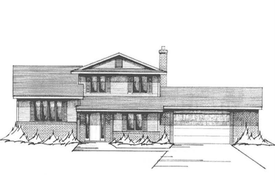 Main image for house plan # 21126
