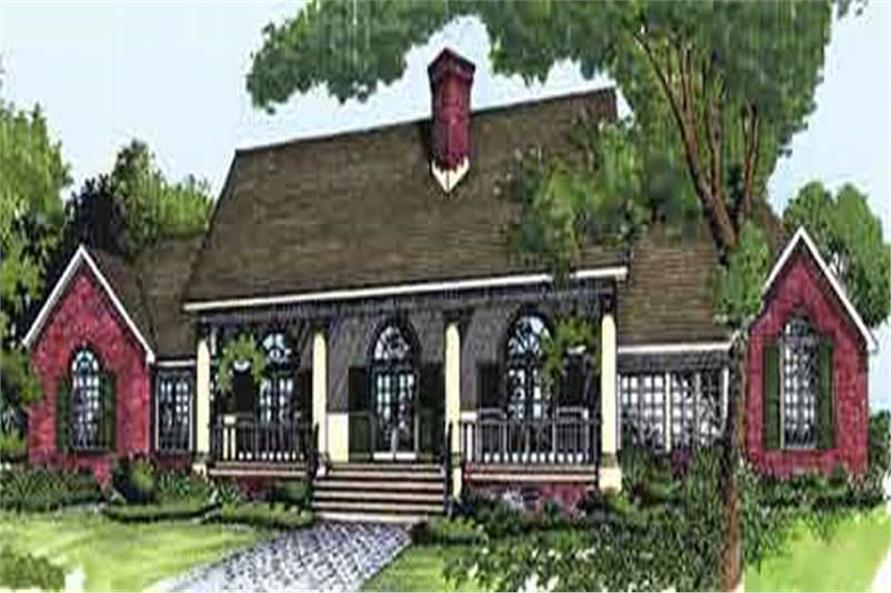 Main image for house plan # 21053