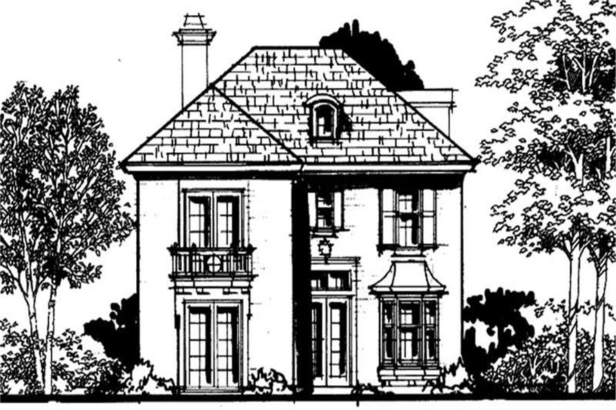 Main image for house plan # 21049