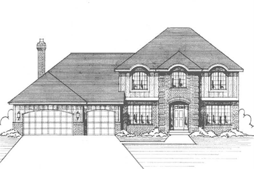 Main image for house plan # 20975