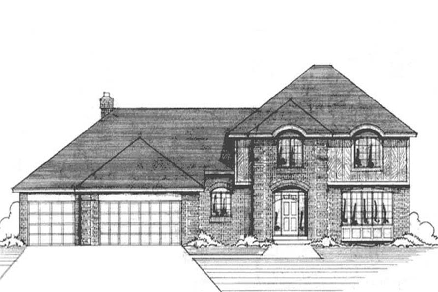 Main image for house plan # 20979