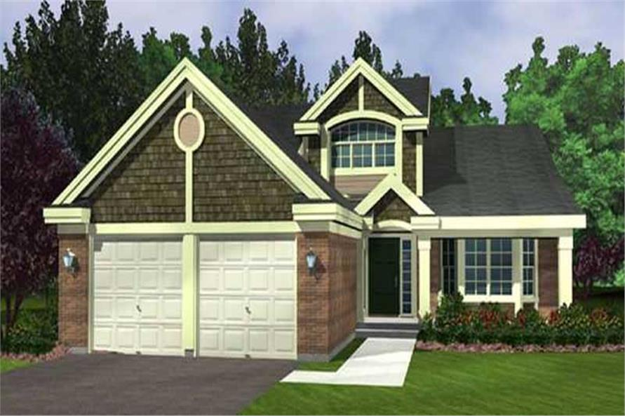 Main image for house plan # 21040