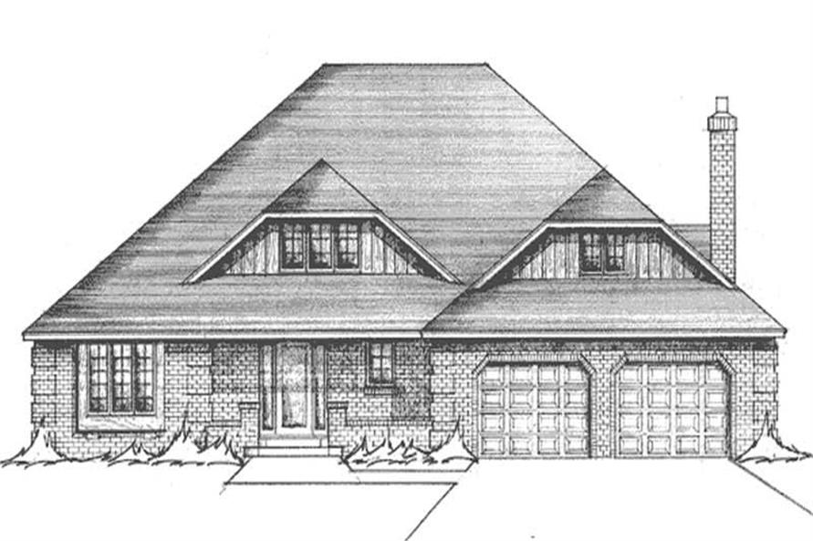 Main image for house plan # 21123