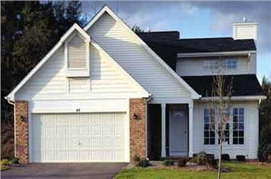 2-Bedroom, 1317 Sq Ft Small House Plans - 146-2970 - Main Exterior