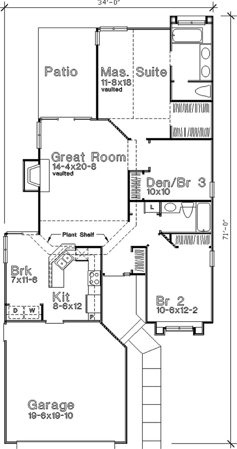 Large Images For House Plan 146 2982