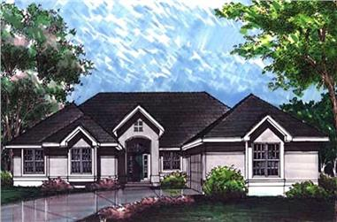 4-Bedroom, 2847 Sq Ft Florida Style Home Plan - 146-2993 - Main Exterior