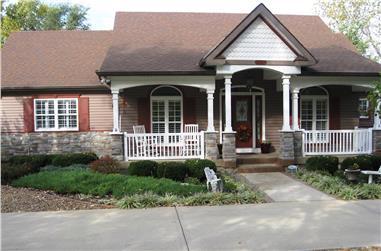 2-Bedroom, 2521 Sq Ft Craftsman Home Plan - 147-1029 - Main Exterior