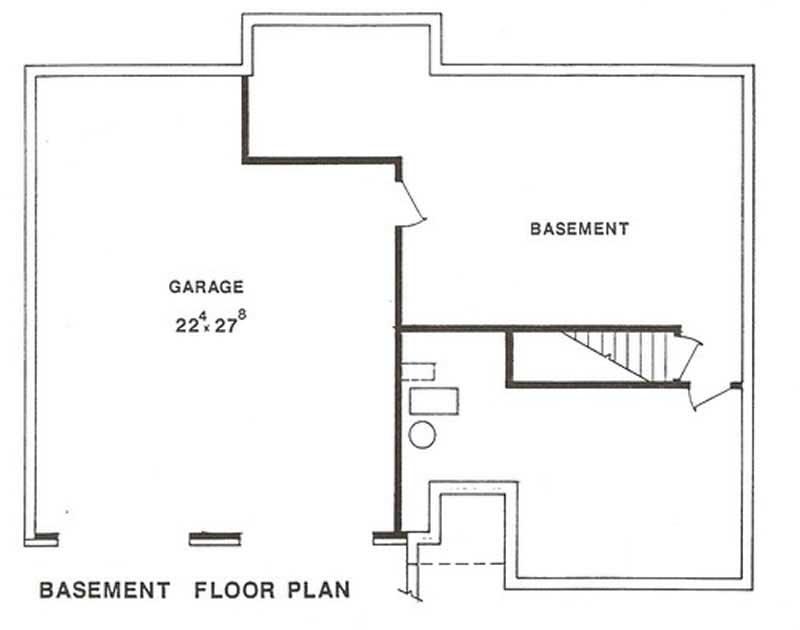Multi level house plans home design lp 2601 for Multi level floor plans