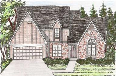 4-Bedroom, 2567 Sq Ft Craftsman House Plan - 147-1060 - Front Exterior