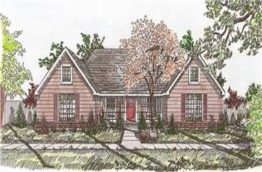 4-Bedroom, 2198 Sq Ft Ranch House Plan - 147-1063 - Front Exterior