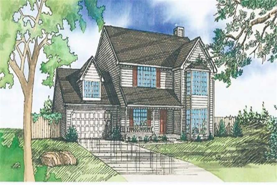 Main image for house plan # 19682