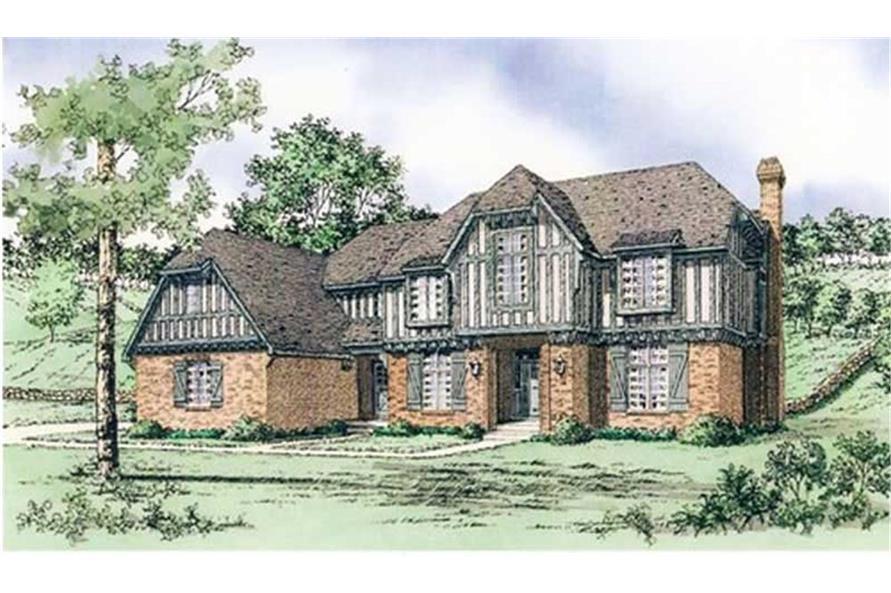 147-1078: Home Plan Rendering