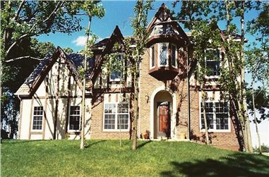 4-Bedroom, 2628 Sq Ft Tudor Home - Plan #147-1083 - Main Exterior