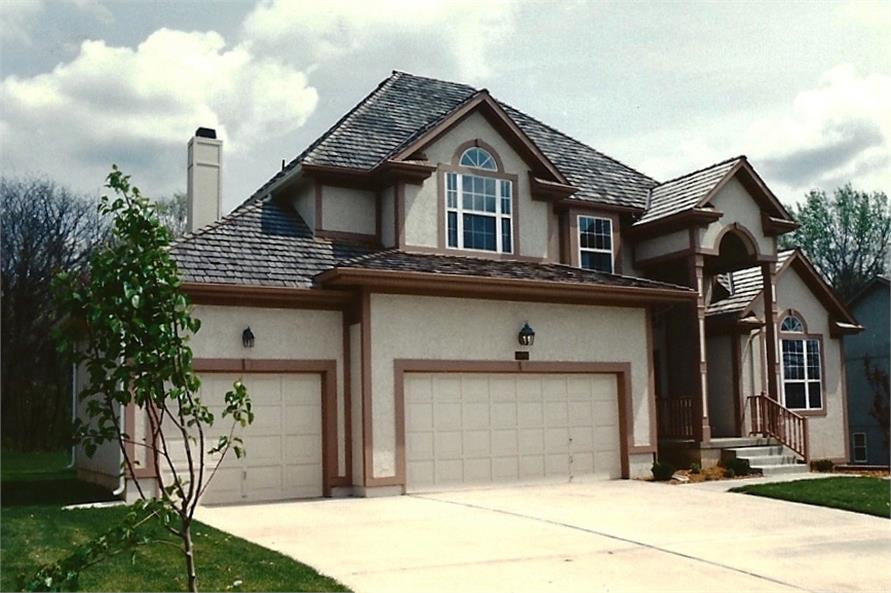 Home Exterior Photograph of this 3-Bedroom,2217 Sq Ft Plan -147-1095