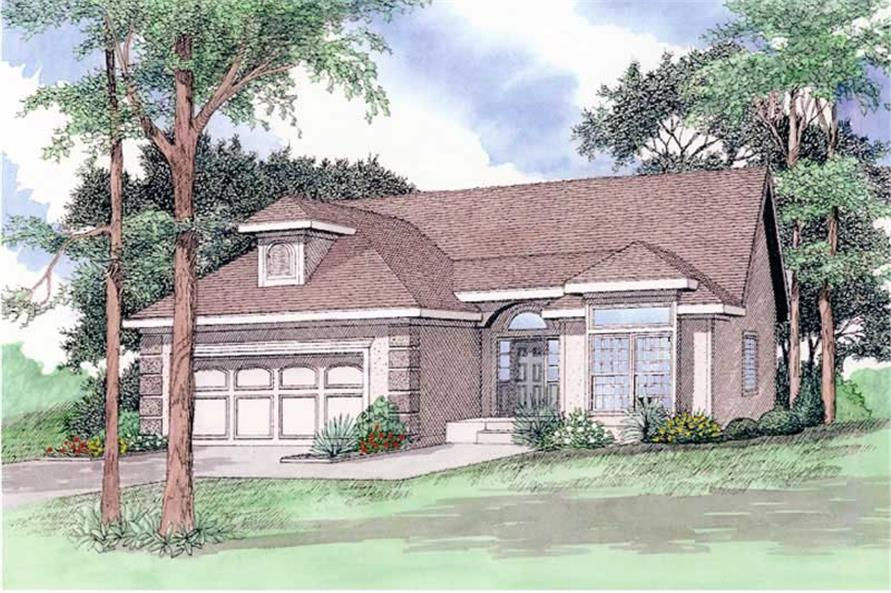 Main image for house plan # 19660