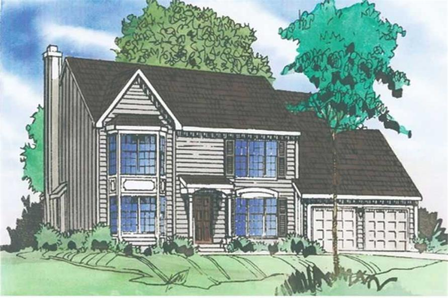 Main image for house plan # 19638