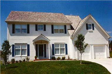 4-Bedroom, 2946 Sq Ft Colonial House - Plan #147-1112 - Front Exterior