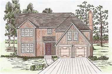5-Bedroom, 2470 Sq Ft Country Home Plan - 147-1146 - Main Exterior