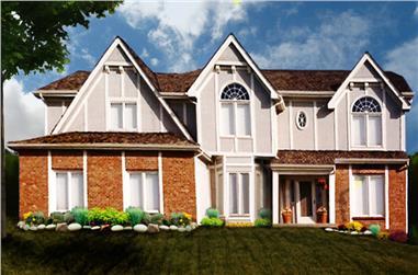 4-Bedroom, 2862 Sq Ft Luxury Home Plan - 147-1154 - Main Exterior