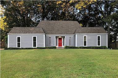 3-Bedroom, 2330 Sq Ft Ranch Home - Plan #147-1159 - Main Exterior