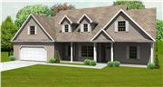 View house Plan#148-1012