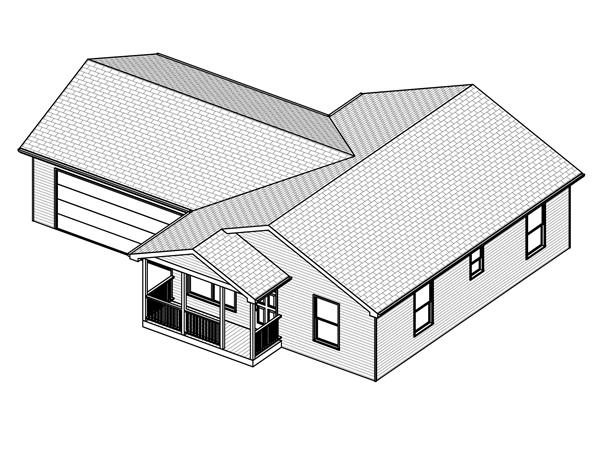 Home Plan 3D Image