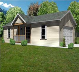 House Plan #148-1058