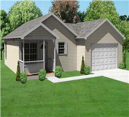 House Plan #148-1068