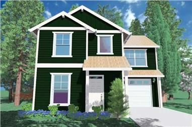 3-Bedroom, 1298 Sq Ft Country House Plan - 149-1000 - Front Exterior