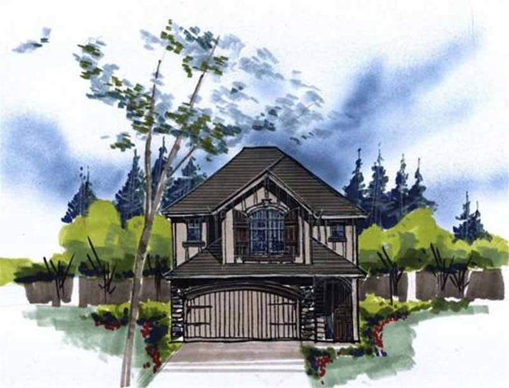 Main image for house plan # 16635