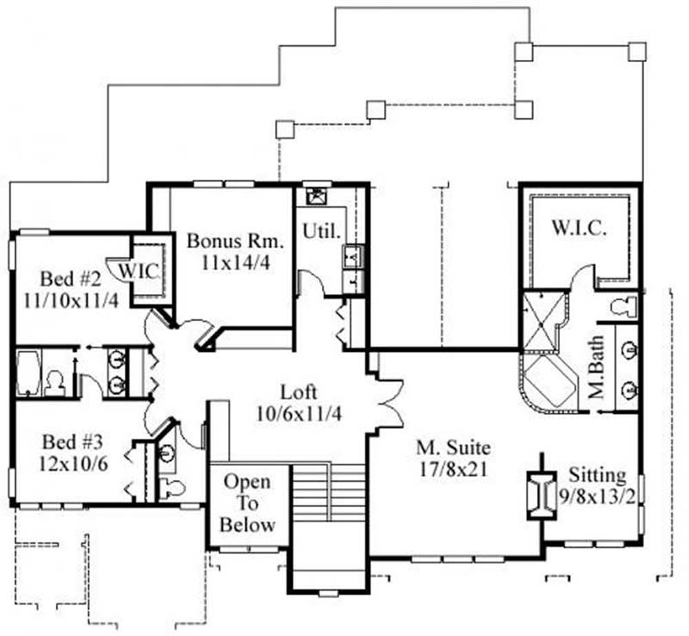 This image shows the master suite.
