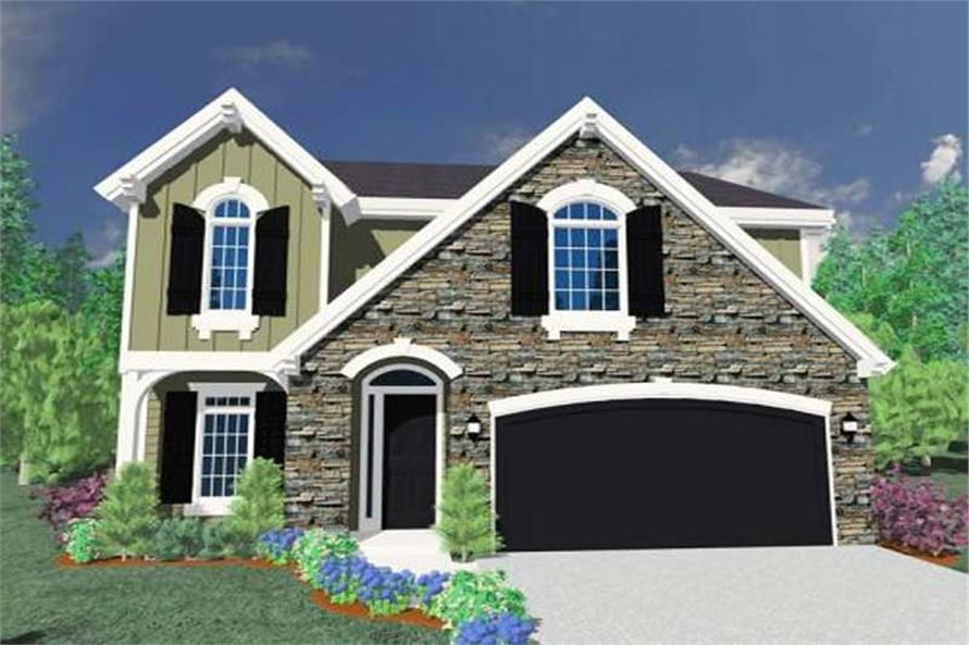 Main image for house plan # 16663