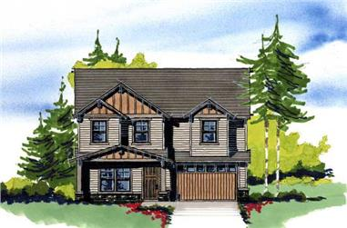 3-Bedroom, 1708 Sq Ft Country Home Plan - 149-1007 - Main Exterior