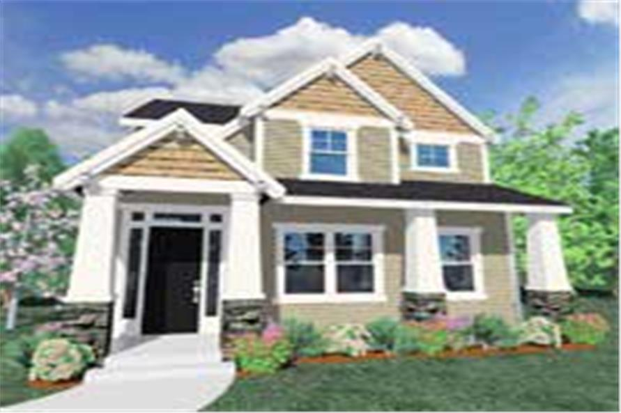 craftsman house plans - home design m-2019