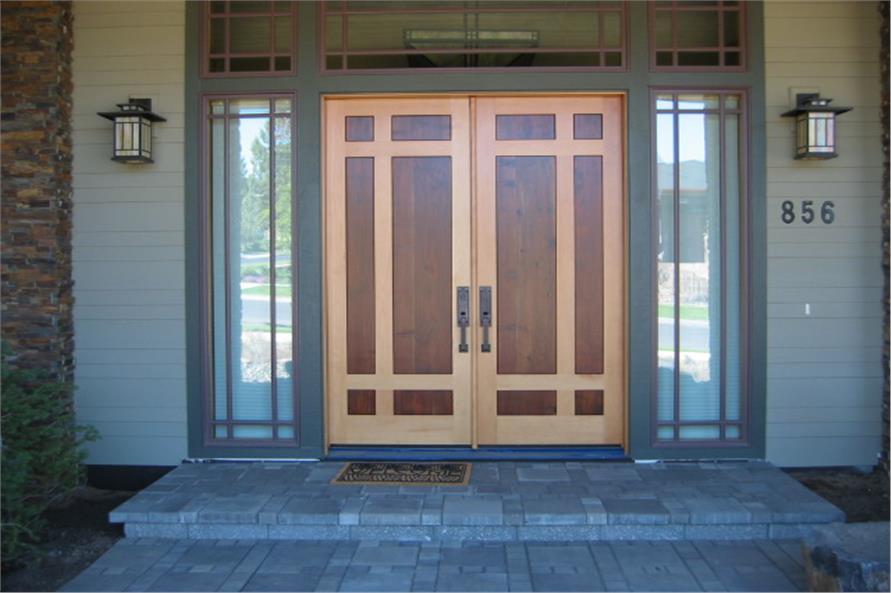 149-1013: Home Exterior Photograph-Front Door