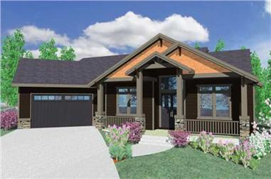 4-Bedroom, 2757 Sq Ft Country House Plan - 149-1017 - Front Exterior