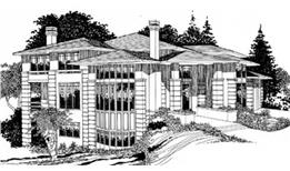 Page 10 : Prairie Style House Plans - The Plan Collection