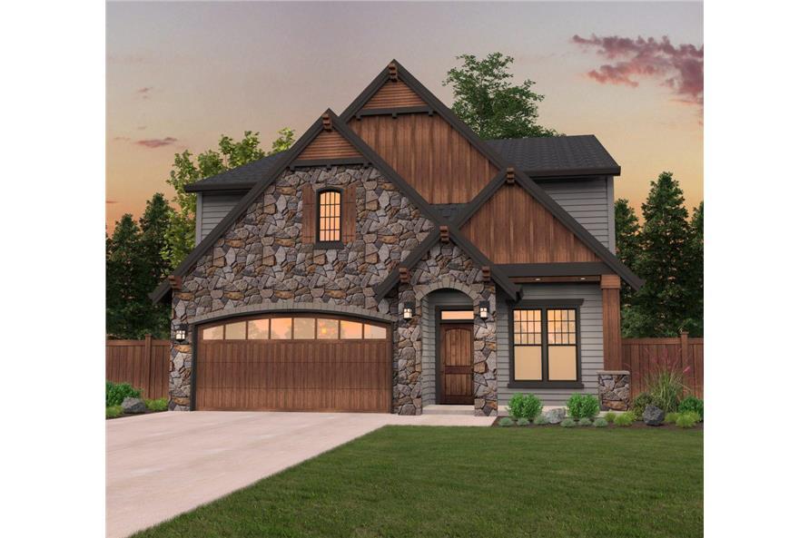 149-1027: Home Plan Rendering